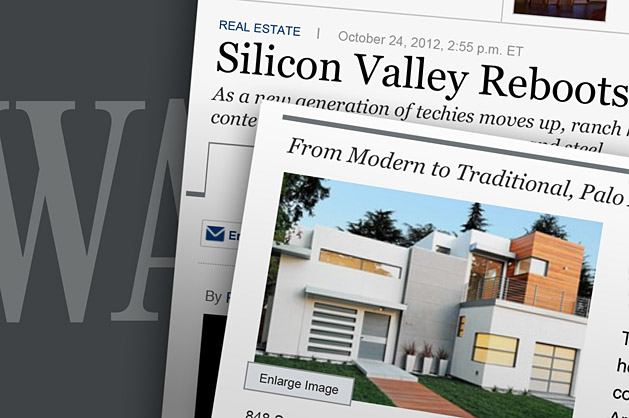 WSJ modern in Silicon Valley graphic