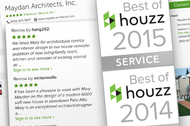 Houzz Best of 2014 graphic